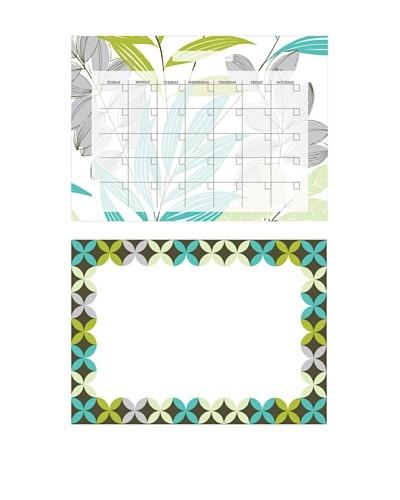 Habitat Dry-Erase Calendar Message Board Combo