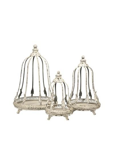 Set of 3 Elliot Decorative Cloche