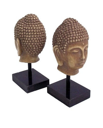 Buddha Bookends, GoldAs You See
