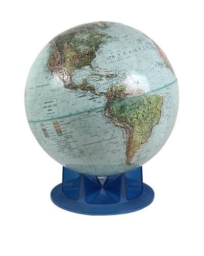 Vintage Globe, Light Blue/Blue