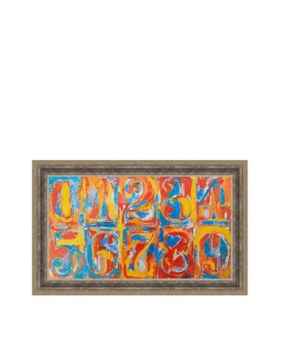 Jasper Johns: Zero-Nine (1958/59)
