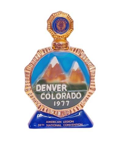 Vintage Circa 1977 Denver Colorado 1977 Decanter