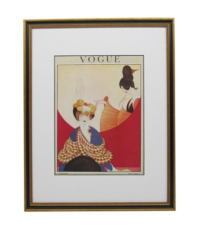 Original Vogue Cover from 1919 by Unkown Artist