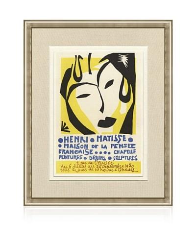 Henri Matisse Maison de la Pensee Francaise, 1959