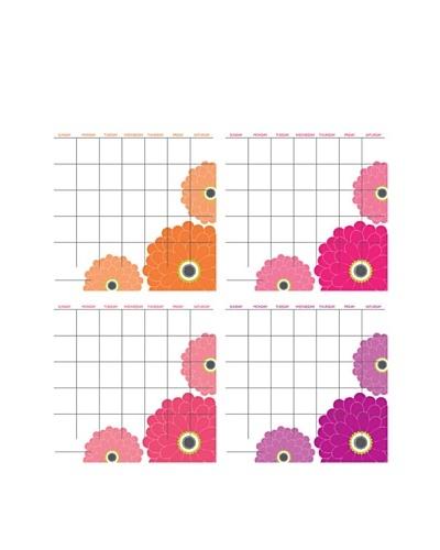 Zinnia Yearly Calendar Pack