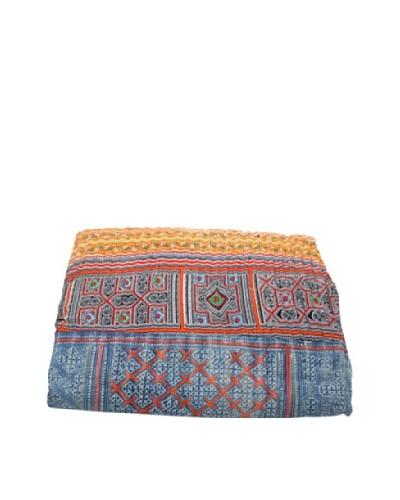 Vintage Hmong Blanket, Multi, Full/QueenAs You See