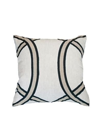 Lunar Pillow, Cream/Beige, 18 x 18As You See