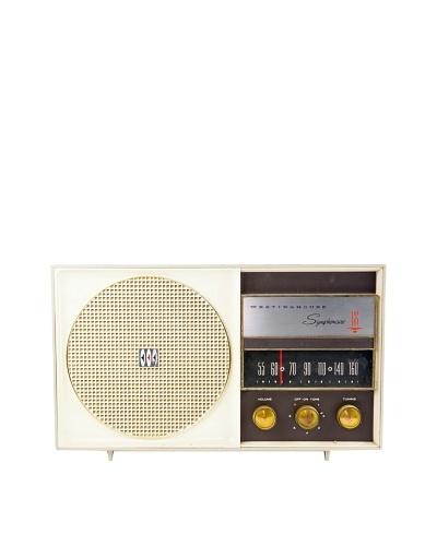 Vintage Westinghouse Radio, White