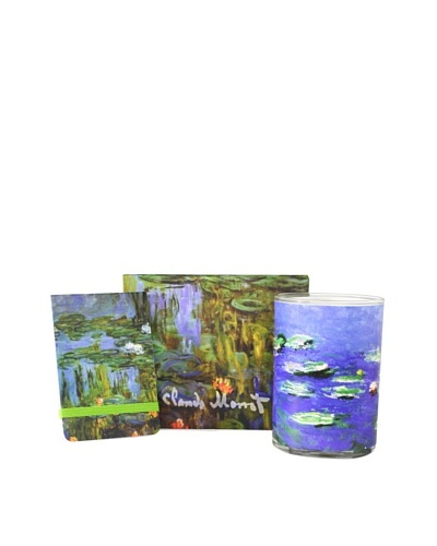 Claude Monet Water Lilies 3- Piece Gift Set