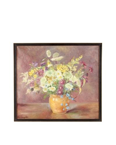 Floral, 1931 Framed Artwork