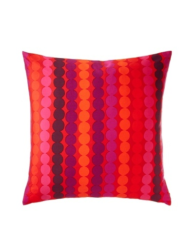 Rasymato Euro Sham, Orange/Purple
