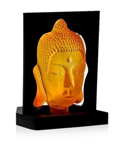 Buddha Candle Holder, Orange