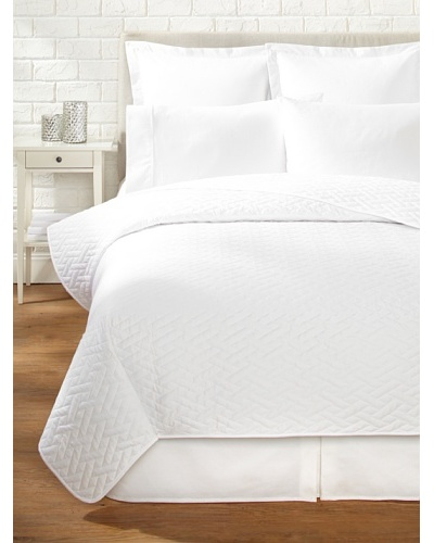 Sateen Quilted Coverlet