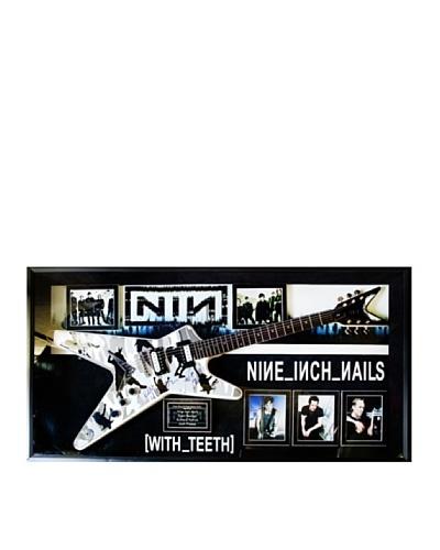 Signed Nine Inch Nails Guitar