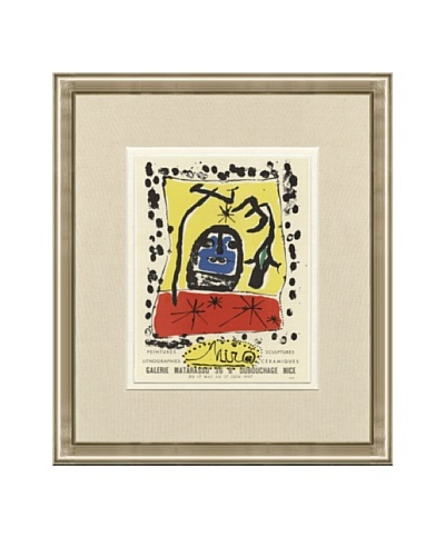 Joan Miró: Galerie Montarasso Lithograph