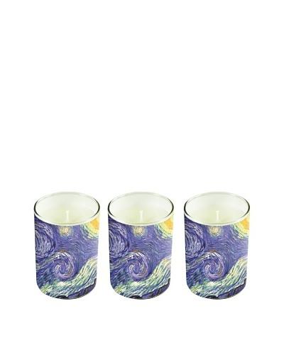 Set of 3 Van Gogh Soy Candles