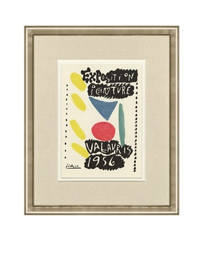 Pablo Picasso: Exposition Peinture Vallauris