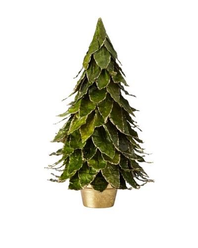 Natural Leaf Tree on Pot, Large
