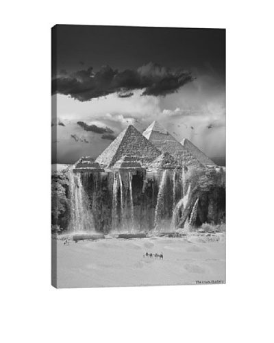 Thomas Barbèy Camel Wash Station Giclée Canvas Print