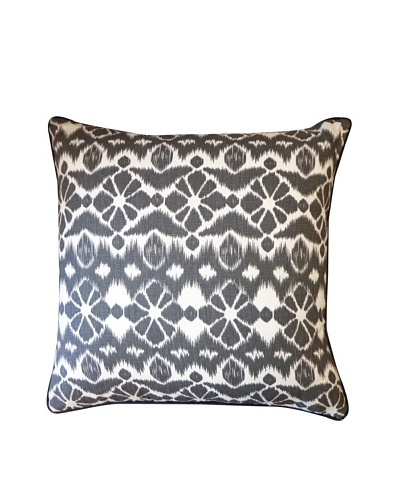 Trevol Throw Pillow, Black
