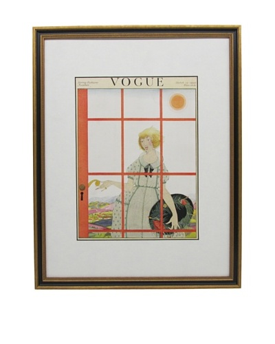 Original Vogue Cover from 1920 by Harriet Messerole