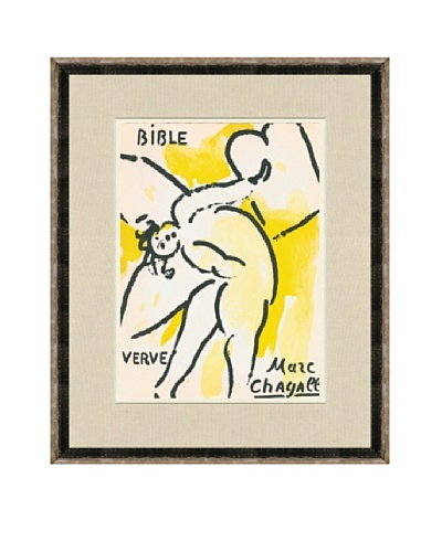 Marc Chagall: Angel With The Tablets Of The Law
