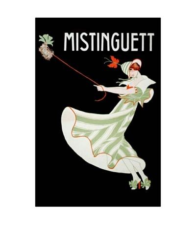 Mistinguett I Giclée Canvas Print