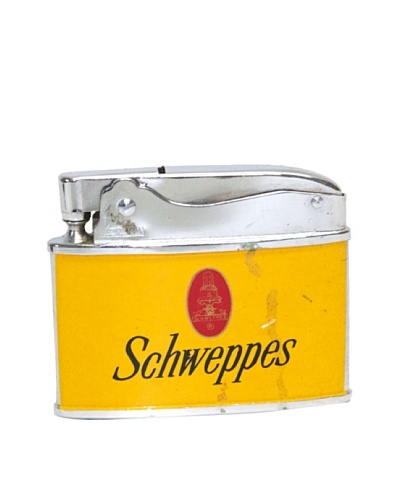 Vintage Circa 1950's Schweppes Advertisement Lighter