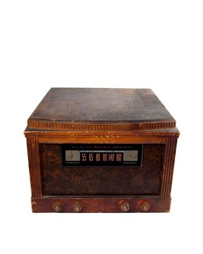 Vintage Bendix Aviator Corporation Radio, Brown