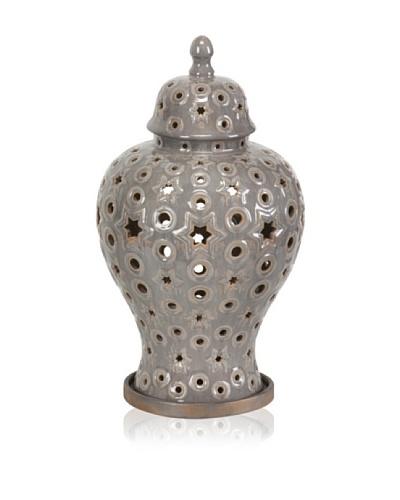Marrak Ceramic Lantern, Large