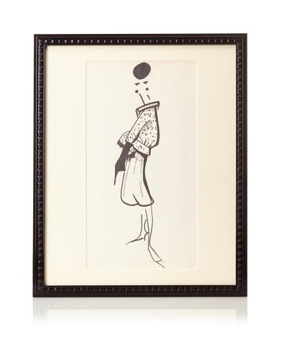 Michel Goma Fashion Sketch