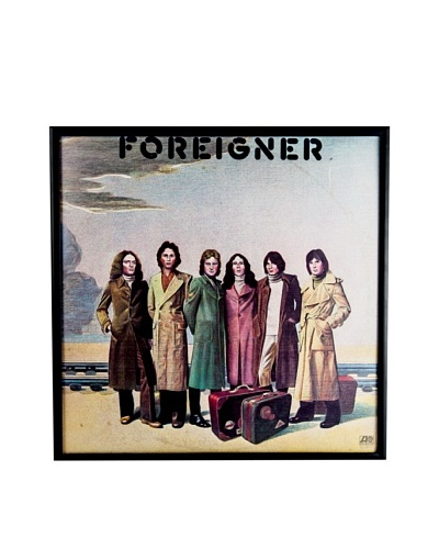 Foreigner: Foreigner Framed Album Cover