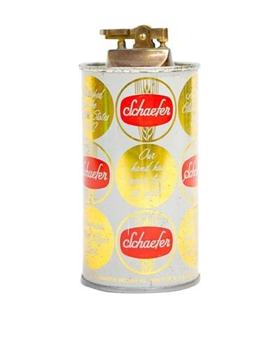 Vintage Circa 1950's Schaefer Beer Can Lighter