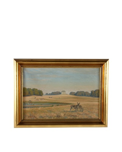 Limoges, 1937 Framed Artwork