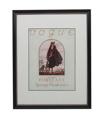 Original Vogue Cover from 1922 by Leslie Saalburg
