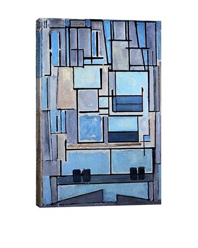 Piet Mondrian's Composition No. 9 (1914) Giclée Canvas Print