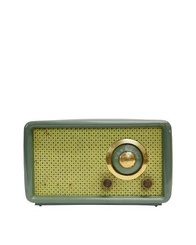 Vintage Montgomery Ward Airline Radio, Sage/LeafAs You See