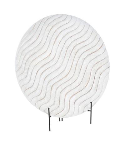 Sacha 20 Platter with Stand [White]
