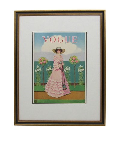 Original Vogue Cover from 1912 by Mrs. Newell Tilton