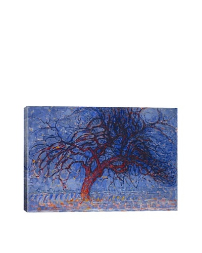 Piet Mondrian's Avond (Evening) the Red Tree (1910) Giclée Canvas Print