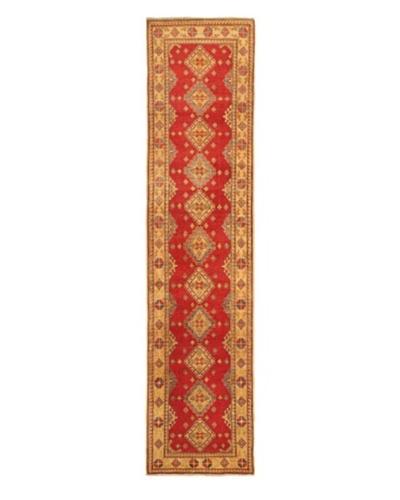 Hand-knotted Uzbek Transitional Runner Wool Rug, Beige, 2' 9 x 12' 2 Runner