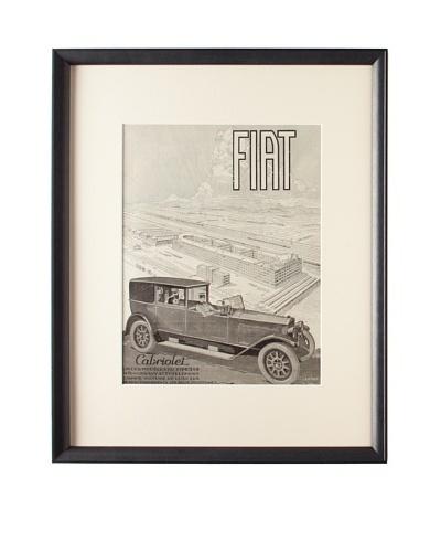 Original French Fiat Advertisement, 1925
