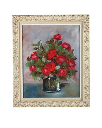Red Roses Framed Artwork