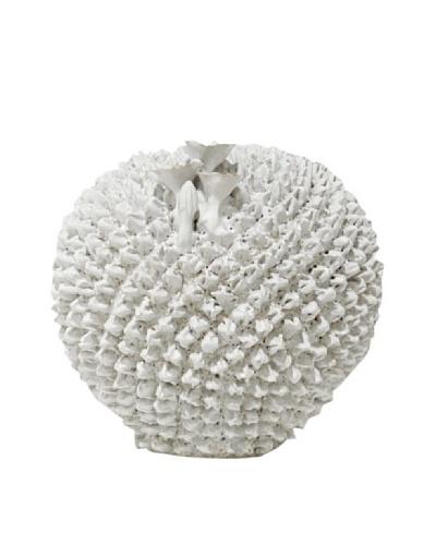 White Moon Prickly Pear Vase