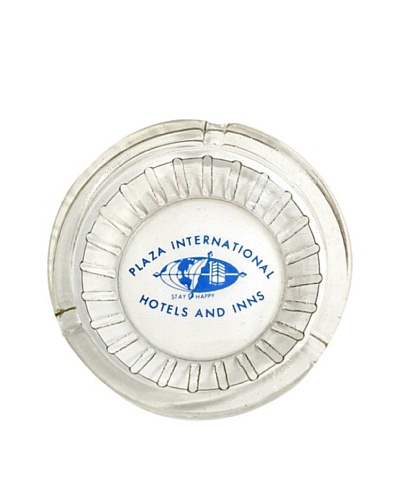 Vintage Plaza International Hotels And Inns Collectable Ashtray