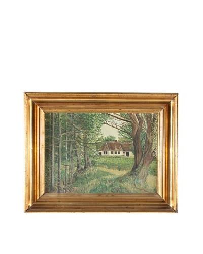 Foret De Russy, Impression Framed Artwork