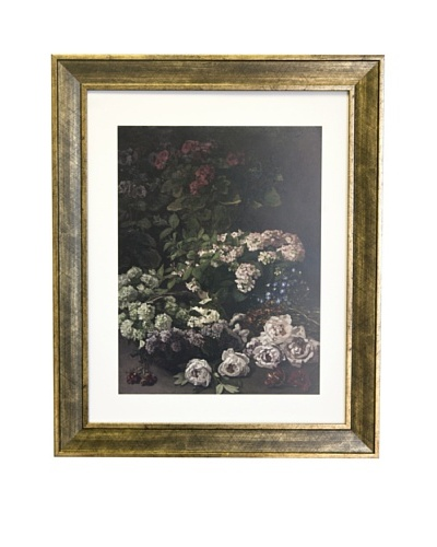 Claude Monet Spring Flowers Limited Edition Lithograph