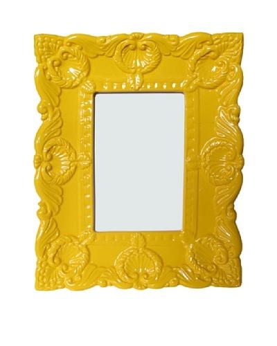 Ornate Photo Frame, Yellow