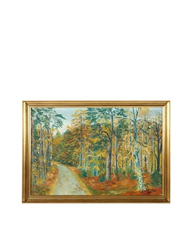 Autumn, 1939 Framed Artwork