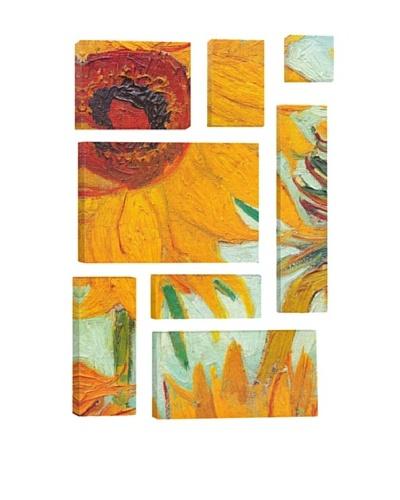 Vincent Van Gogh Twelve Sunflowers (Detail) 8-Piece Giclée Canvas Print